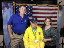 Caregivers and WWII Vet